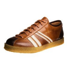 zeha Berlin -  Trainer low, cognac / cream / brown